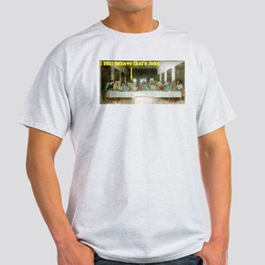 Last Supper Ash Grey T-Shirt