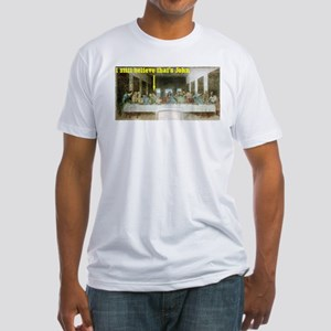 Last Supper Fitted T-Shirt