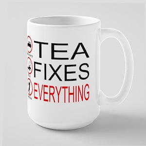 Tea Fixes Everything Large Mug