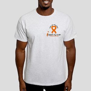 With All My Heart Leukemia Light T-Shirt