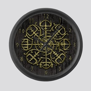 Nordic Guidance - Viking Comp Large Wall Clock