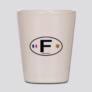 France Euro Oval Shot Glass
