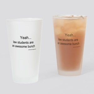 Law Students Drinking Glass