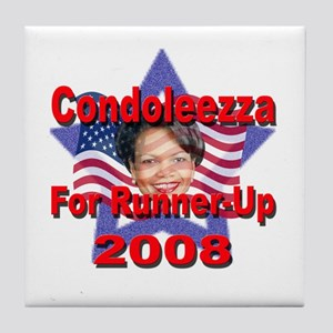 Condoleezza Rice For Runner-U Tile Coaster