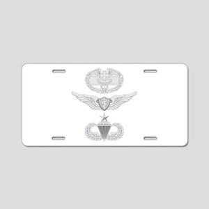 CFMB Flight Surgeon Airborn Aluminum License Plate