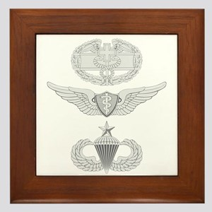 CFMB Flight Surgeon Airborne Senior Framed Tile