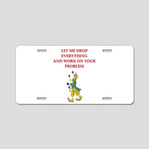 psychologist Aluminum License Plate