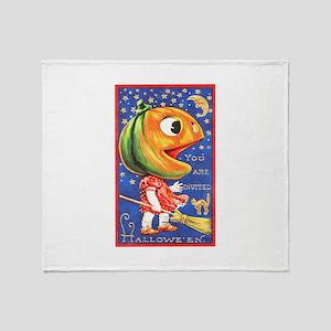 PumpkinHead Throw Blanket