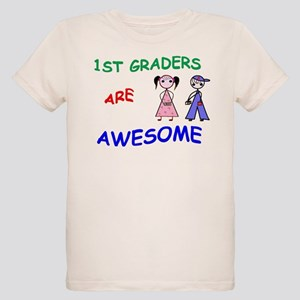 1ST GRADERS ARE AWESOME Organic Kids T-Shirt