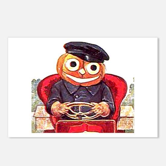 Pumpkin Driver Postcards (Package of 8)