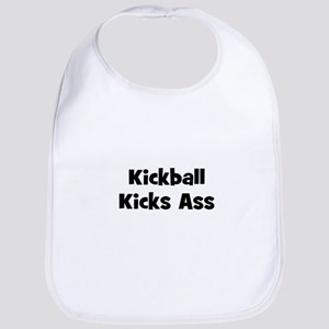 Kickball Kicks Ass Bib