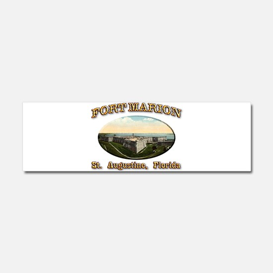 Fort Marion Car Magnet 10 x 3
