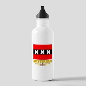 Amsterdam Flag Stainless Water Bottle 1.0L