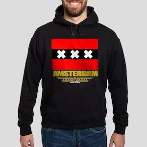 Amsterdam Flag Hoodie (dark)