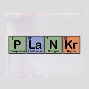 Plankr Elements Throw Blanket