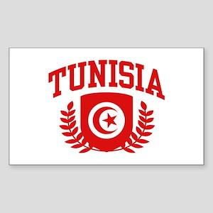 Tunisia Sticker (Rectangle)