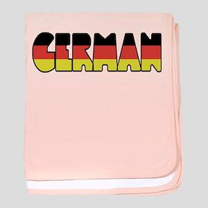 German baby blanket