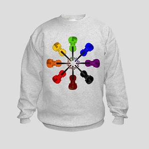 Circle of Violins Kids Sweatshirt