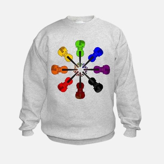Circle of Violins Sweatshirt