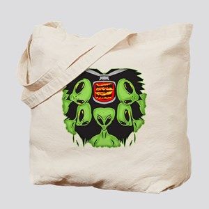 Aliens Probing Your Body Tote Bag