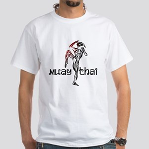 Muay Thai White T-Shirt