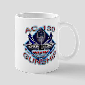 USAF AC-130 Gunship Skull Mug