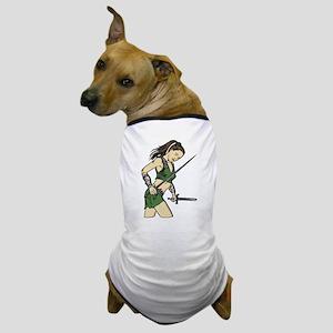 Attacking Amazon Woman Dog T-Shirt