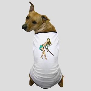 Battling Amazon Women Dog T-Shirt