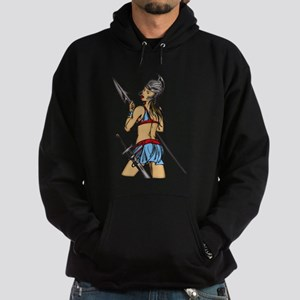 Strong Amazon Women Hoodie (dark)