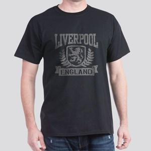 Liverpool England Dark T-Shirt