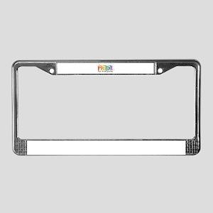 Fort Smith Pride 2011 License Plate Frame