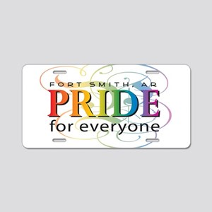 Fort Smith Pride 2011 Aluminum License Plate