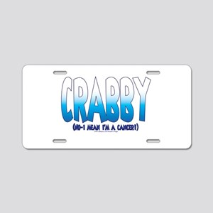 NEW! Racy Zodiak - Cancer Aluminum License Plate