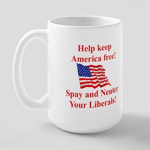 Keep America Free Large Mug