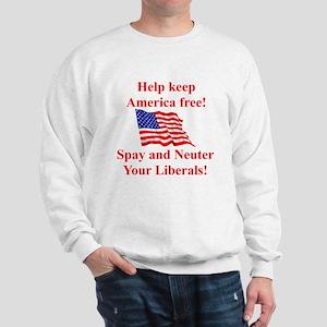 Keep America Free Sweatshirt