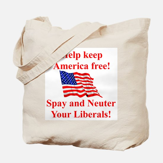 Keep America Free Tote Bag