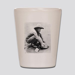 The Old Prospector Shot Glass