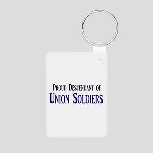 Proud Descendant Of Union Soldiers Aluminum Photo