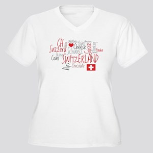 You Have to Love Switzerland Women's Plus Size V-N