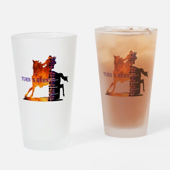 Turn 'n Burn Drinking Glass