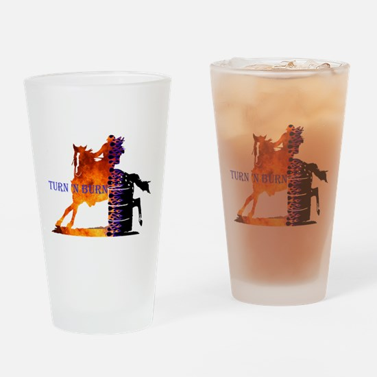 TNB Appaloosa Drinking Glass