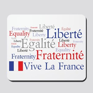 France - Liberty, Equality, F Mousepad