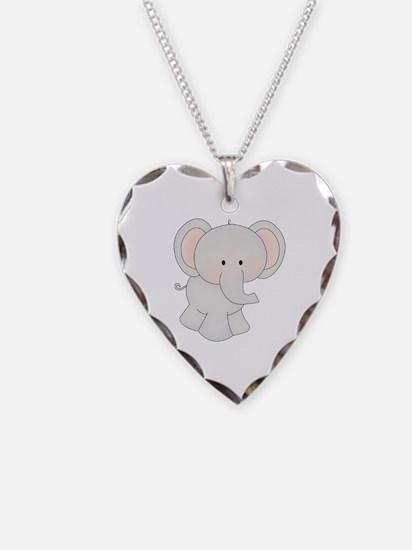 Cartoon Elephant Necklace