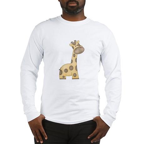 Cartoon Giraffe Long Sleeve T-Shirt