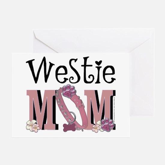 Westie MOM Greeting Card