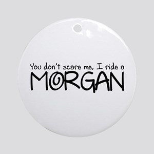 Morgan Ornament (Round)