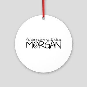 Morgan Ornament (Round)