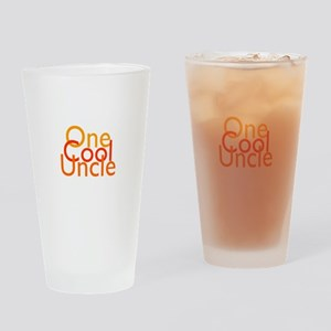 One Cool Uncle Drinking Glass