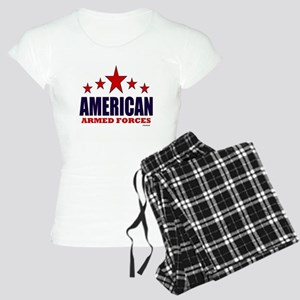 American Armed Forces Women's Light Pajamas