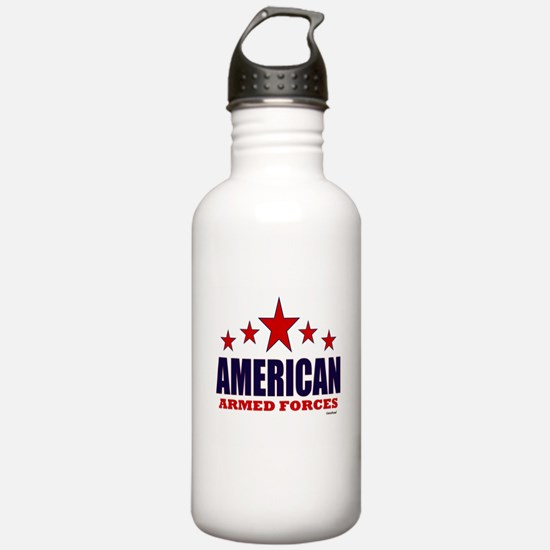 American Armed Forces Water Bottle